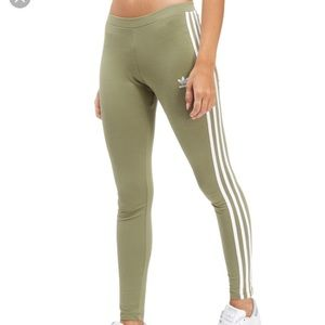 Adidas Green Leggings